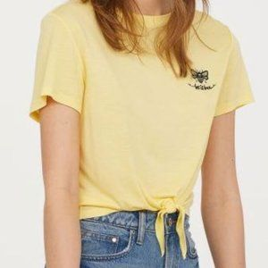 Divided Let It Bee Embroidered T Shirt